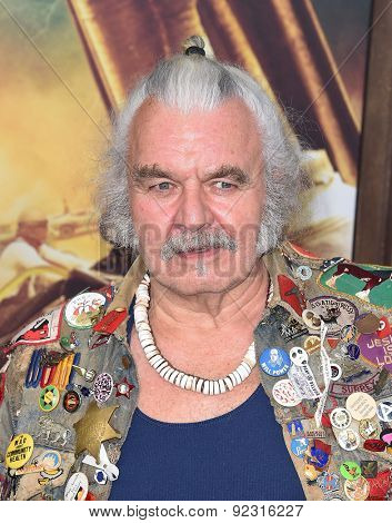 LOS ANGELES - MAY 07:  Hugh Keays-Byrne arrives to the