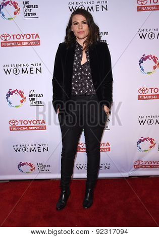 LOS ANGELES - MAY 16:  Clea DuVall arrives to the An Evening With Women  on May 16, 2015 in Hollywood, CA