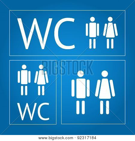 WC icon set
