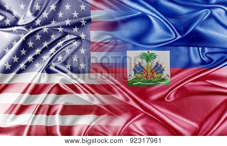 USA and Haiti.