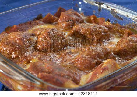 Meatballs Pasta Bake