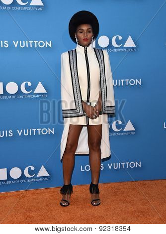 LOS ANGELES - MAY 30:  Janelle Monae arrives to the MOCA Annual Gala 2015  on May 30, 2015 in Hollywood, CA