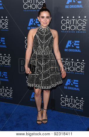 LOS ANGELES - MAY 31:  Mae Whitman arrives to the Critic's Choice Television Awards 2015  on May 31, 2015 in Hollywood, CA