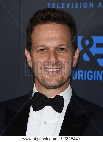 LOS ANGELES - MAY 31:  Josh Charles arrives to the Critic's Choice Television Awards 2015  on May 31, 2015 in Hollywood, CA