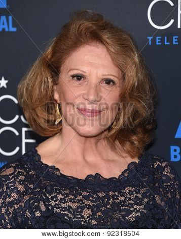 LOS ANGELES - MAY 31:  Linda Lavin arrives to the Critic's Choice Television Awards 2015  on May 31, 2015 in Hollywood, CA