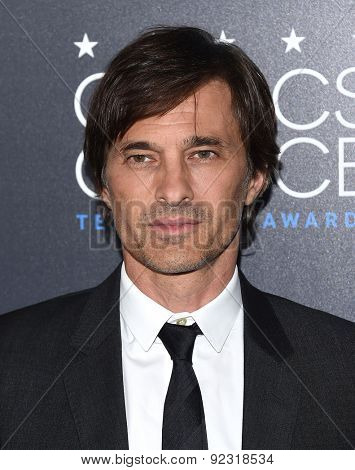 LOS ANGELES - MAY 31:  Olivier Martinez arrives to the Critic's Choice Television Awards 2015  on May 31, 2015 in Hollywood, CA