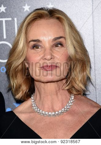 LOS ANGELES - MAY 31:  Jessica Lange arrives to the Critic's Choice Television Awards 2015  on May 31, 2015 in Hollywood, CA