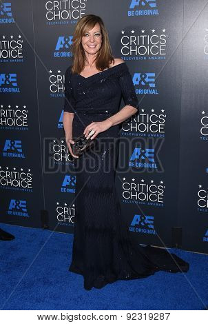 LOS ANGELES - MAY 31:  Allison Janney arrives to the Critic's Choice Television Awards 2015  on May 31, 2015 in Hollywood, CA