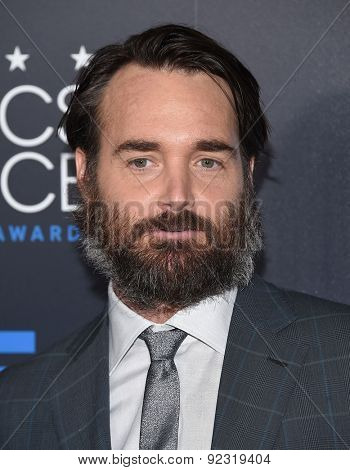 LOS ANGELES - MAY 31:  Will Forte arrives to the Critic's Choice Television Awards 2015  on May 31, 2015 in Hollywood, CA