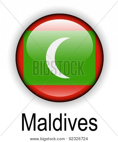 maldives official state flag
