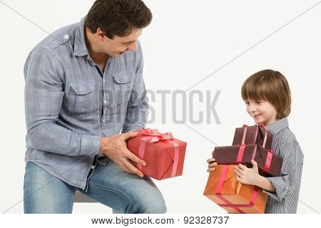 Father Gives Gifts