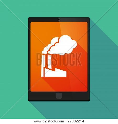 Tablet Pc Icon With A 2016 Sign