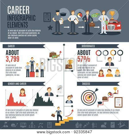 Career Infographics Set