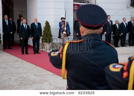 Russian president visited Slovakia