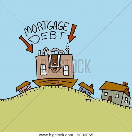 Upside Down Mortgage Debt