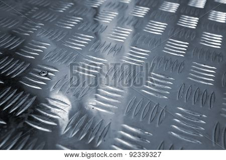 Industrial Diamond Plate Relief Pattern
