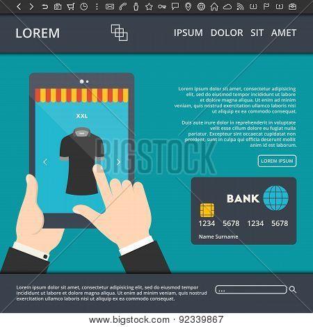 Online Shopping Web Banner