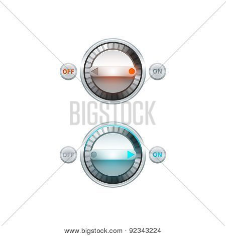 Round Button Set