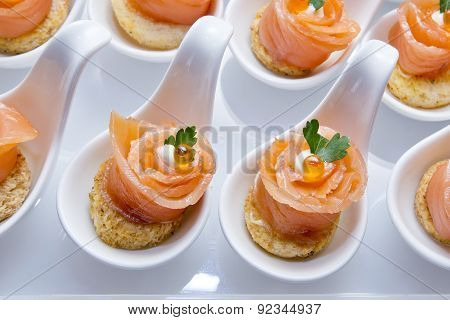 Finger Food In Cocktail Party