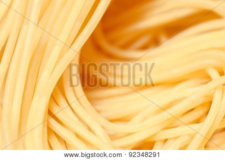 Pasta Closeup, Abstract Background