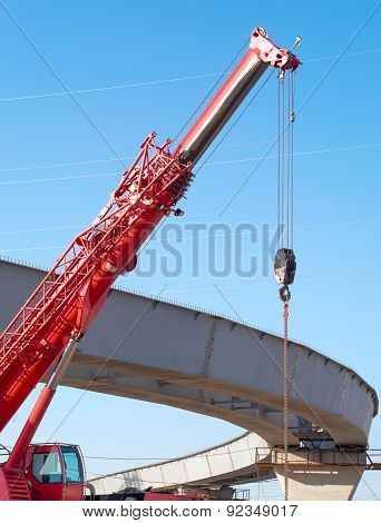 Hoisting Crane, Construction Of Overhead Road