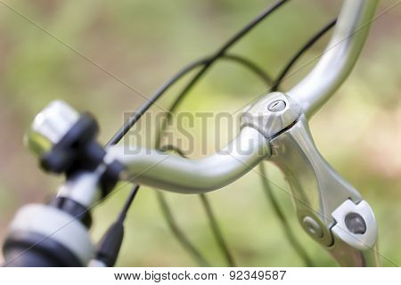 Bicycle Handlebar, Abstract Background