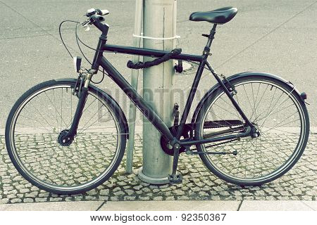 Locked Bicycle