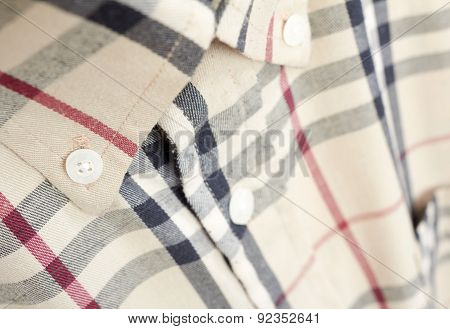 Fragment Men Shirt, Abstract Background
