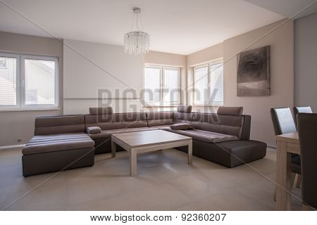 Big Extravagant Sofa