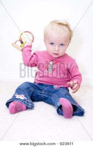 Baby Throwing Toy