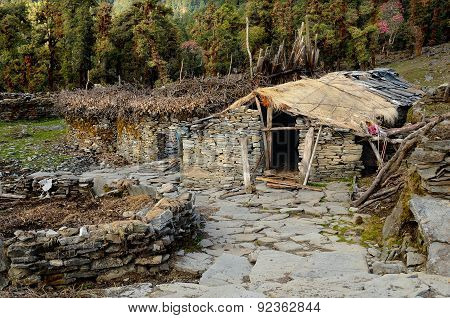 Stone Houses Indian Shepherds
