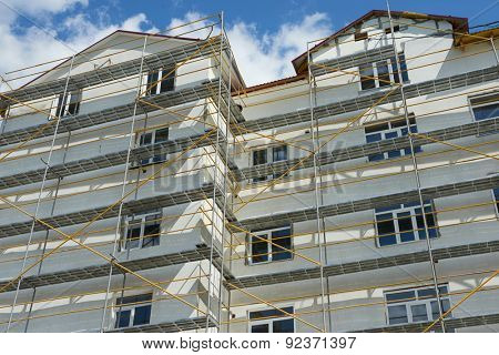 repair home scaffolding building construction