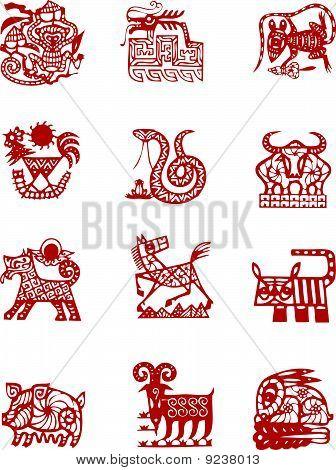 Oriental Asian Animals