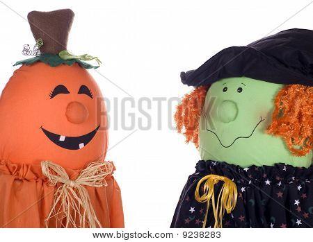 Halloween Characters Talking