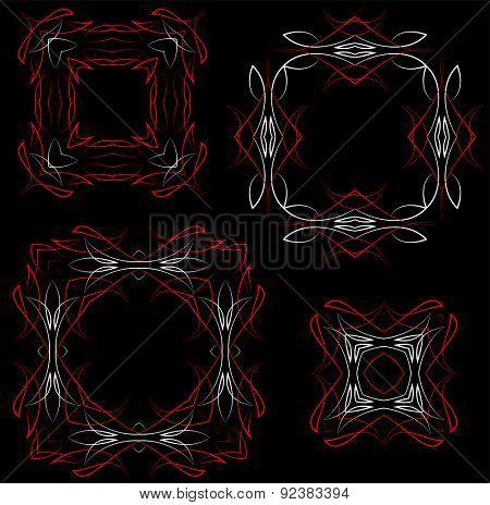 Pinstripe Graphics Circular : Vinyl Ready