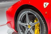 Постер, плакат: Ferrari 458 Spider Close Up