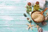 pic of sea salt  - Spa or wellness setting - JPG