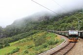 pic of locomotive  - Norwegian railway transport - JPG