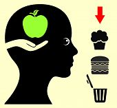 picture of  habits  - Breaking eating habits with health food like fruits - JPG