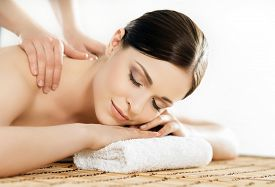 stock photo of traditional  - Young and healthy woman in spa salon - JPG