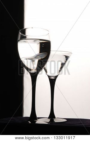 Wine Glasses Are Ready For Party