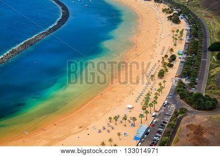 Sandy Beach Las Teresitas