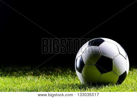 Classic White And Black Football Ball