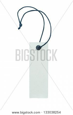 price tag isolated on white color backgrond