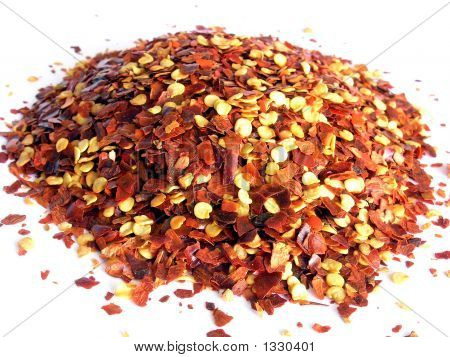 Crushed Red Chilli Pepper.