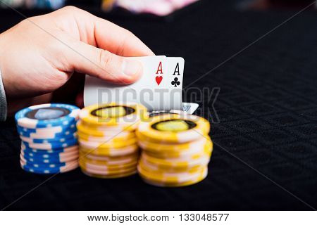 poker hold'em is a casino game popular all over the world