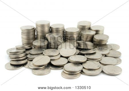 Money - 10 Pence Pieces