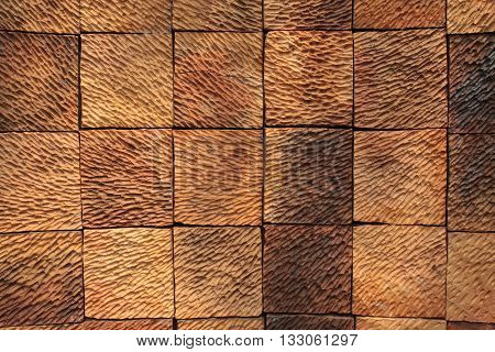 brick wall texture isolated on white color background