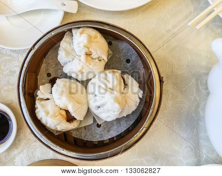Pork Buns Steamed Dumpling