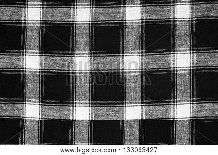 black and white texture fabric, check, cloth